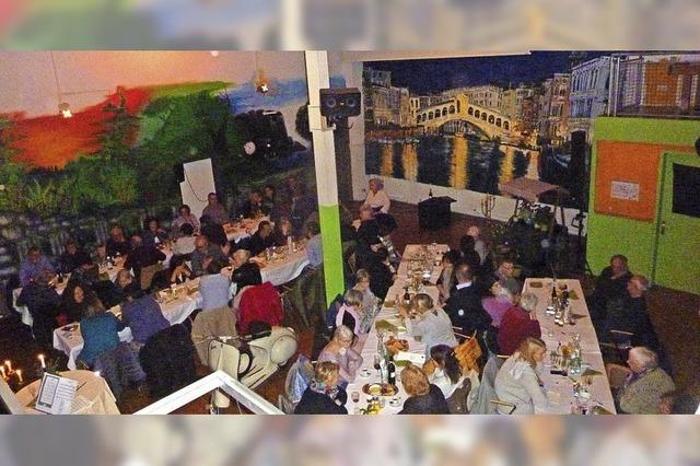 Film-Dinner mit italienischem Flair