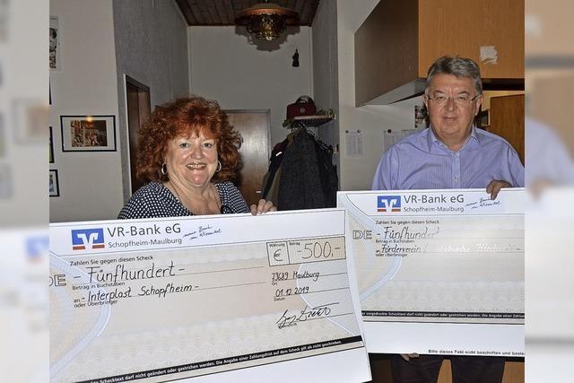 VdK Maulburg zeigt mit 1000 Euro sozialen Einsatz