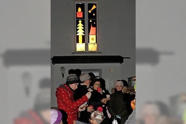 Lichterglanz im historischen Dorfkern