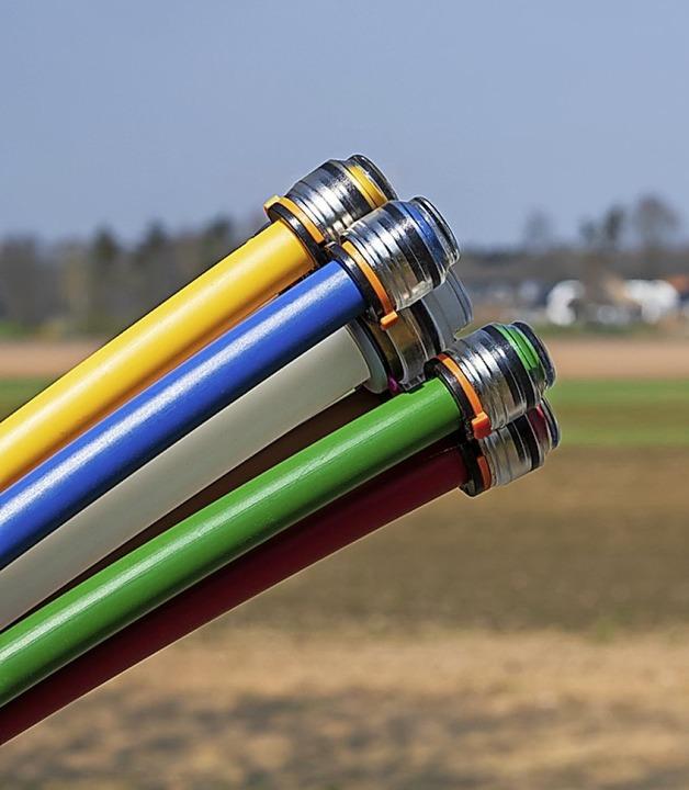 Glasfaser fürs schnelle Internet  | Foto: Gundolf Renze