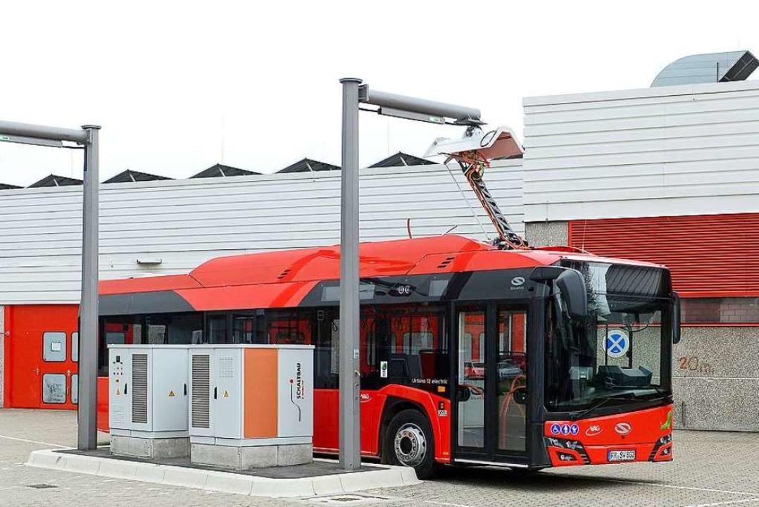 Gerade erst hat die VAG ihre ersten be... für den Stromantrieb umgerüstet sein.  | Foto: Ingo Schneider