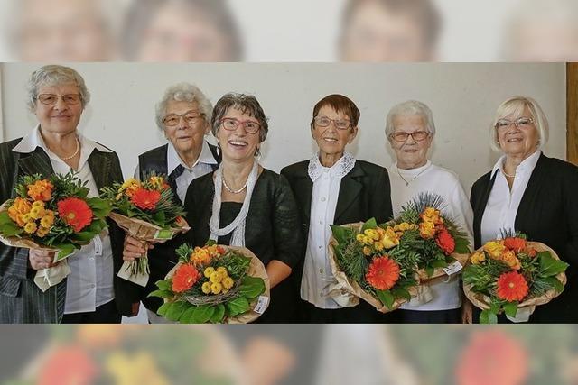 Der Singkreis Orschweier feiert Geburtstag