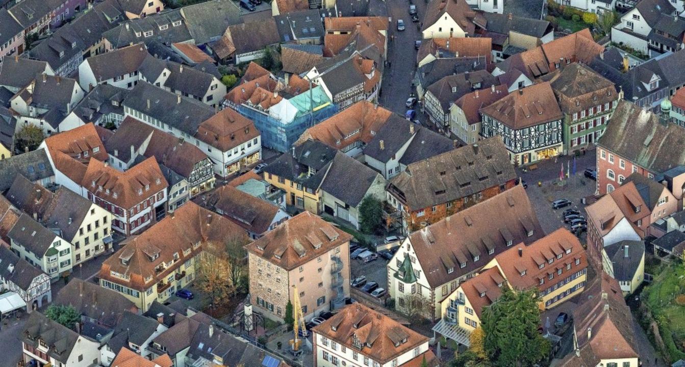 Knapp zehn Millionen Fördermittel des ...anierungsprogramm Altstadt Ettenheim.   | Foto: Martin Bildstein copyright