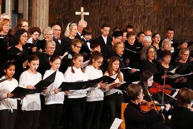 Beim Kammerchor Bad Säckingen singt auch das Publikum mit