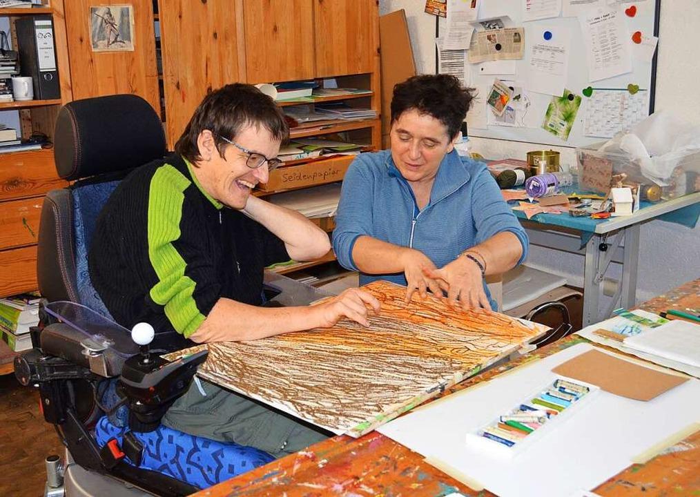 Die Förder- und Betreuungsgruppe biete...chkeiten für Menschen mit Behinderung.    Foto: Britta Wieschenkämper