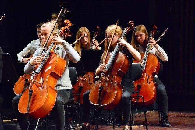 250 junge Musiker treten bei der
