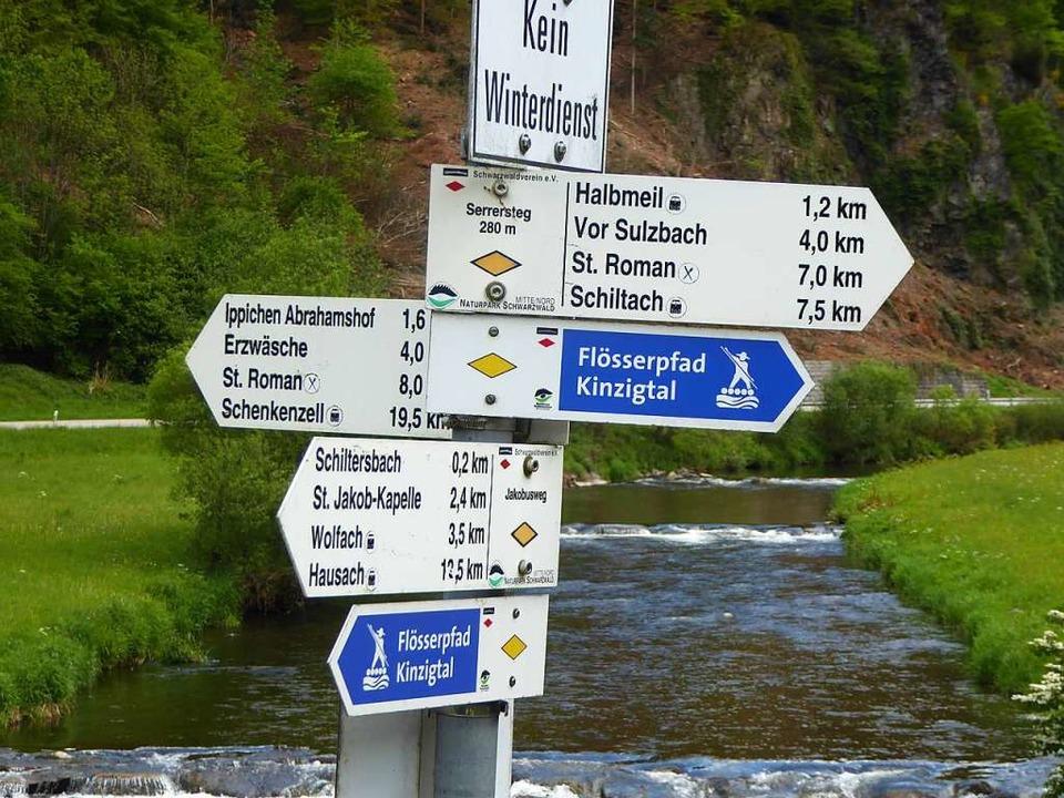 Vielfältig ist in der Ortenau nicht nu...Wanderwegen, so wie hier im Kinzigtal.  | Foto: Helmut Seller