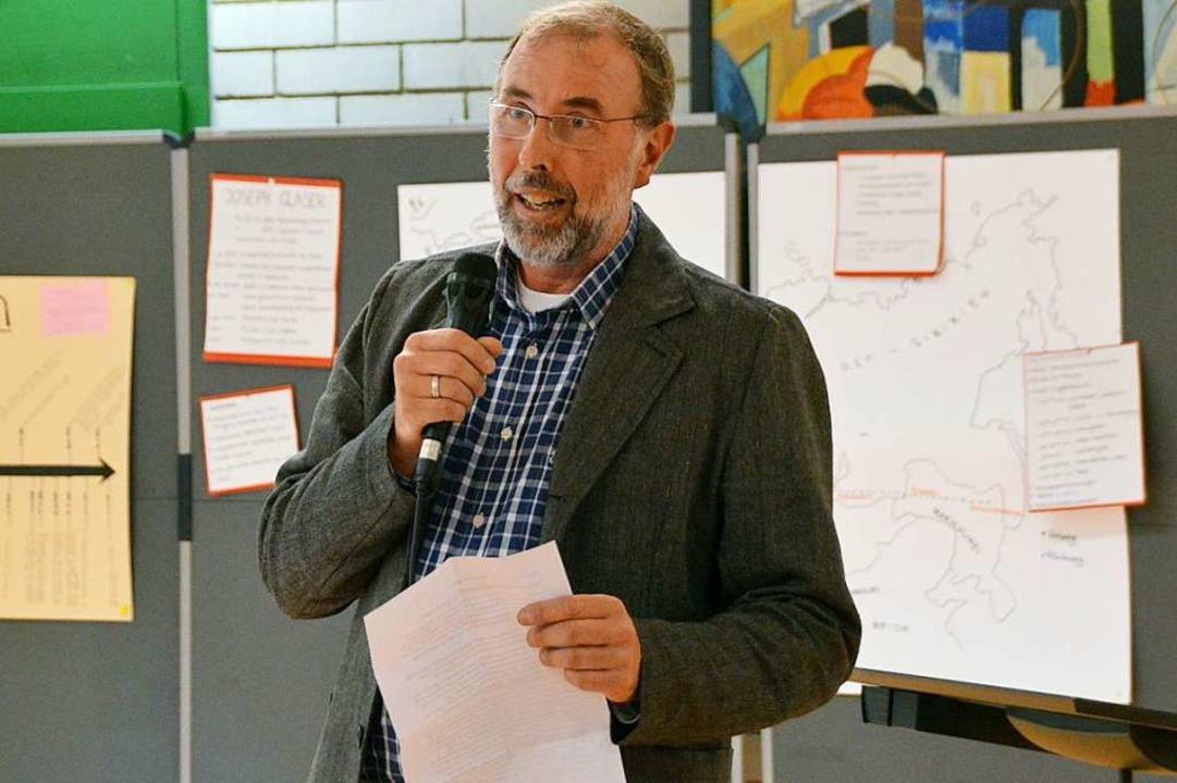 Michael Nopper ist am Donnerstag per s...m Amt als Vorsitzender zurückgetreten.  | Foto: Horatio Gollin