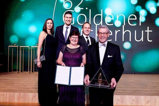 Das Sahnehäubchen des Berufslebens – Dieter Schneider erhält den Branchen-Oscar