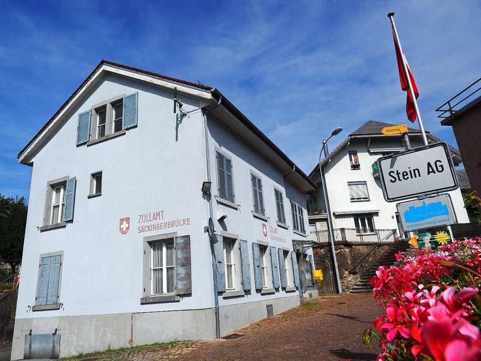 Die Stimmberechtigten aus Stein waren ...t fürs historische Zollhaus überzeugt.  | Foto: Marc Fischer