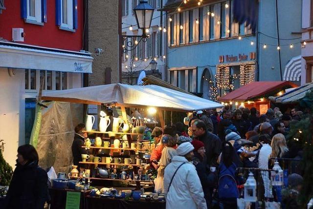 Festliche Stimmung in der Altstadt Emmendingen