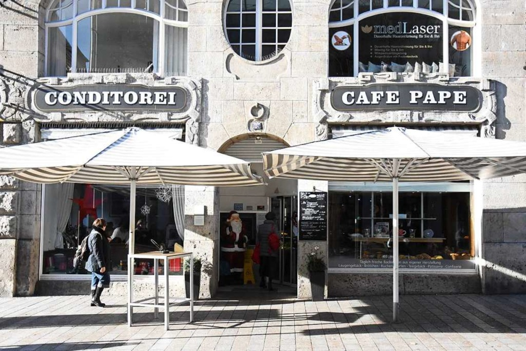 Das Lörracher Café Pape  | Foto: Kathrin Ganter