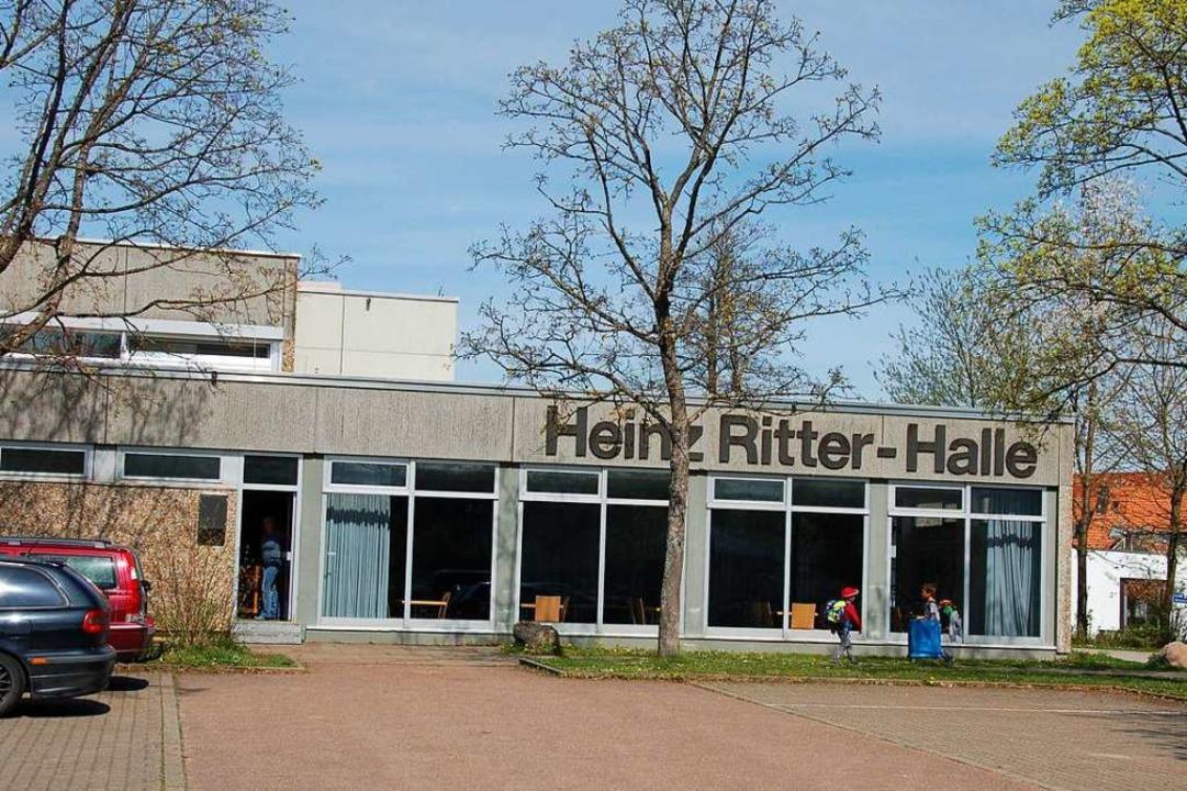 Die Heinz-Ritter-Halle soll eine neue ...ber diskutierte jetzt der Gemeinderat.  | Foto: Pia Grättinger