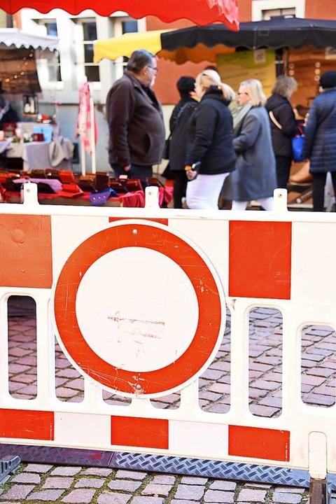 Coole Sache: Impressionen vom Kalten Markt in Schopfheim    Foto: Robert Bergmann