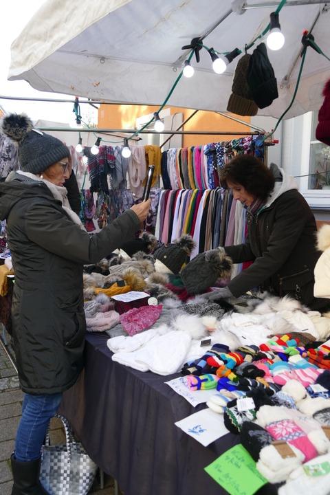Coole Sache: Impressionen vom Kalten Markt in Schopfheim    Foto: Sarah Trinler