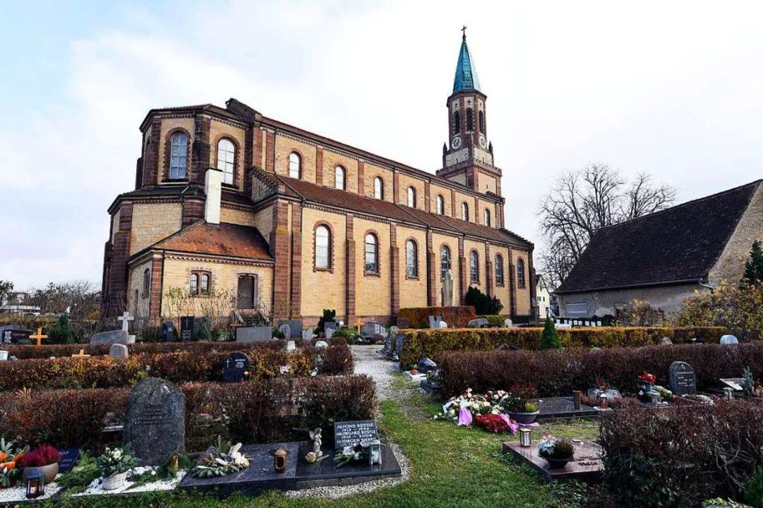 Die Georgskirche, die die Hardkirche a...also vor genau 150 Jahren, eingeweiht.  | Foto: Thomas Kunz
