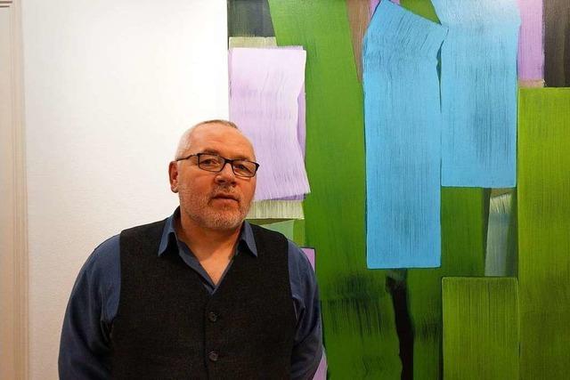 Künstler Holger Fitterer: