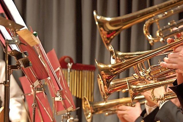 Jahreskonzert des Musikvereins mit Unterstützung des Jugendorchesters