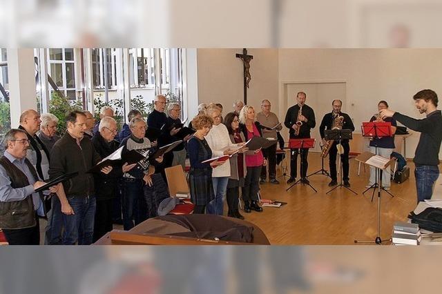 Adventskonzert der Sängerrunde Hochberg mit Gästen in Emmendingen
