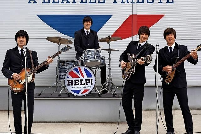Beatles-Tribute Band Help gastiert im Gloria-Theater in Bad Säckingen