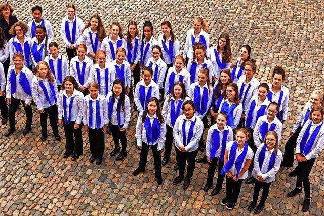 Mädchenkantorei Freiburg in Badenweiler