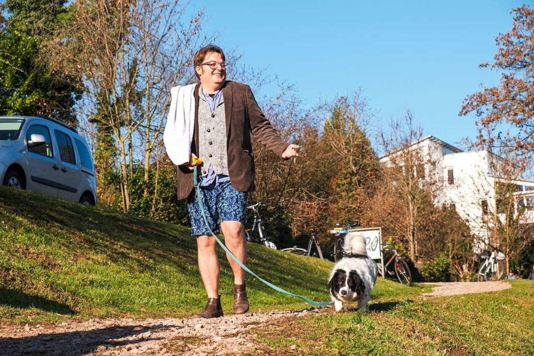 Tobias Walkling auf dem Weg zum Wasser  | Foto: Ansgar Taschinski