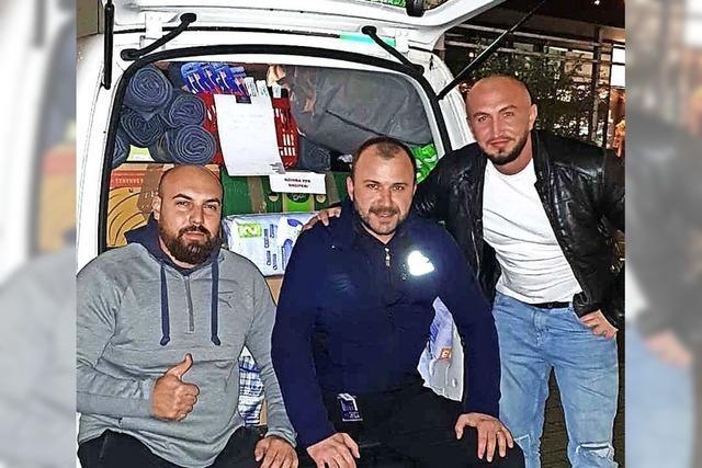 Spenden für Erdbebenopfer in Albanien