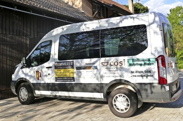 40 000 Euro für Bürgerbus
