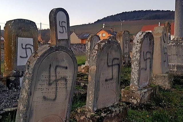 Jüdischer Friedhof im Elsass geschändet