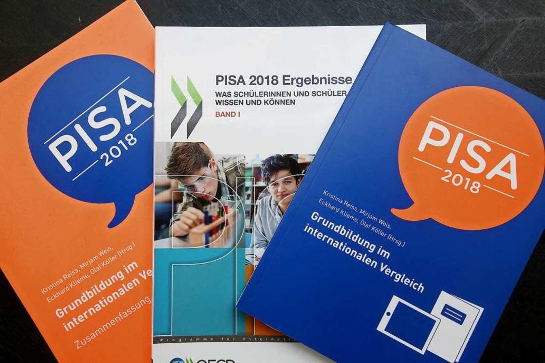 Die aktuelle Pisa-Studie  | Foto: Wolfgang Kumm (dpa)