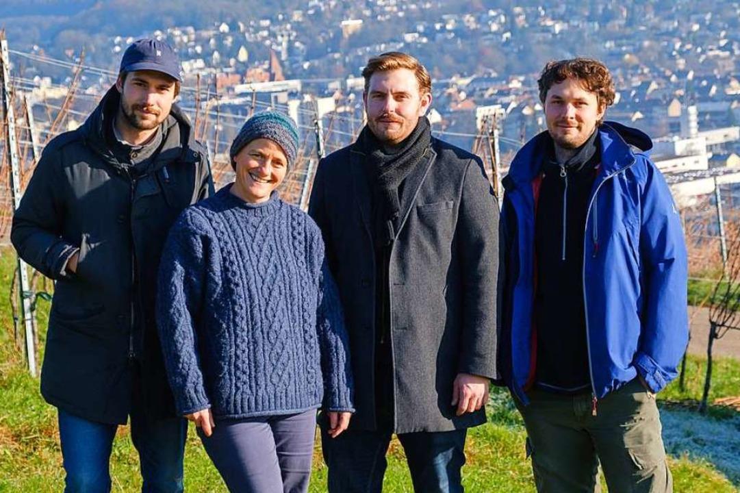 Christoph Schneider, Susanne Engler, M...demer, Johannes Schneider (von links).  | Foto: Ansgar Taschinski