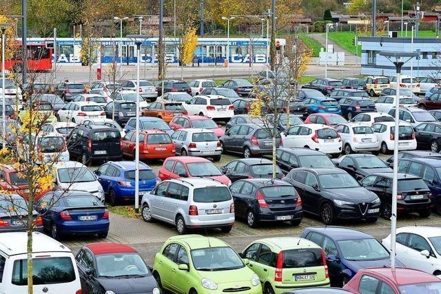 BZ-Check: Wie ausgelastet sind die Park & Ride-Plätze in Freiburg?