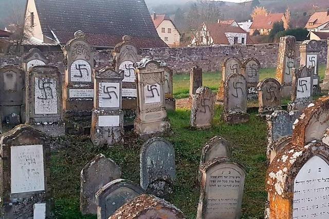 Frankreich will neue Polizeieinheit gegen Schändung jüdischer Gräber