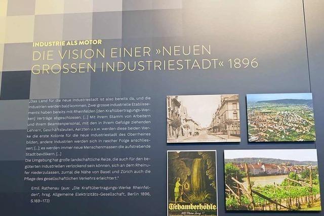 Der Rheinfelder Schauraum bietet Einblicke in die Stadtgeschichte
