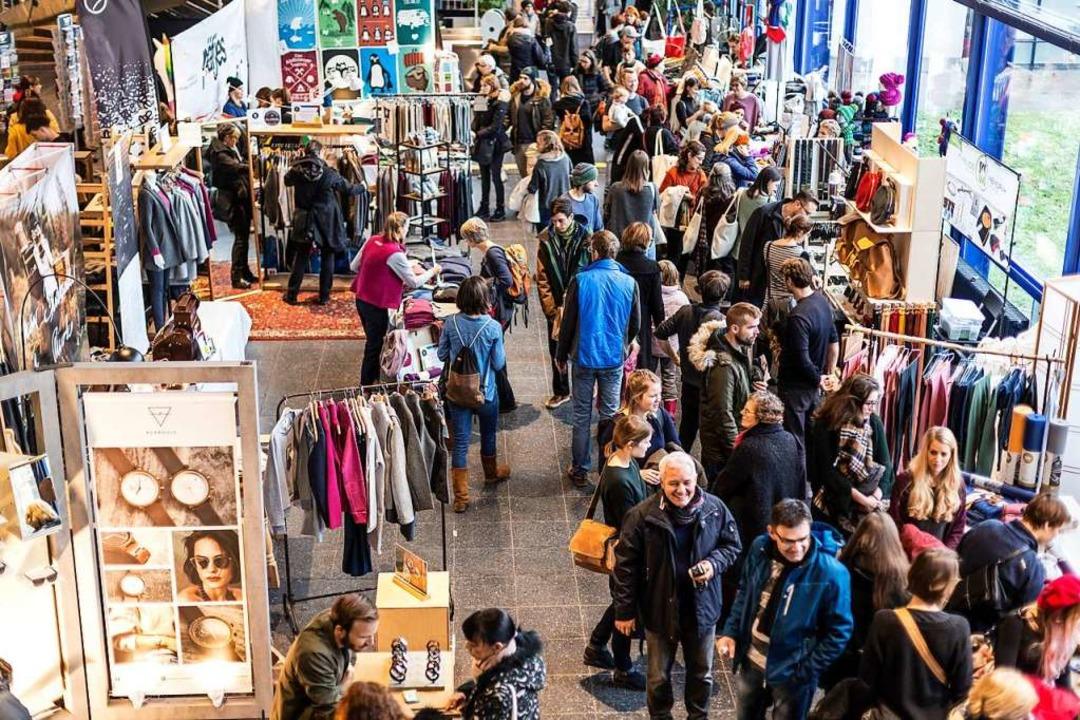 Feines für Augen und Gaumen: Der Stijlmarkt in der Mensa Rempartstraße  | Foto: StijlMarkt
