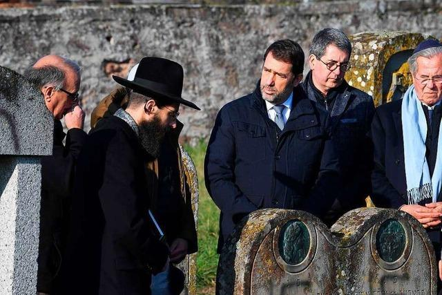 Immer wieder werden im Elsass Friedhöfe geschändet