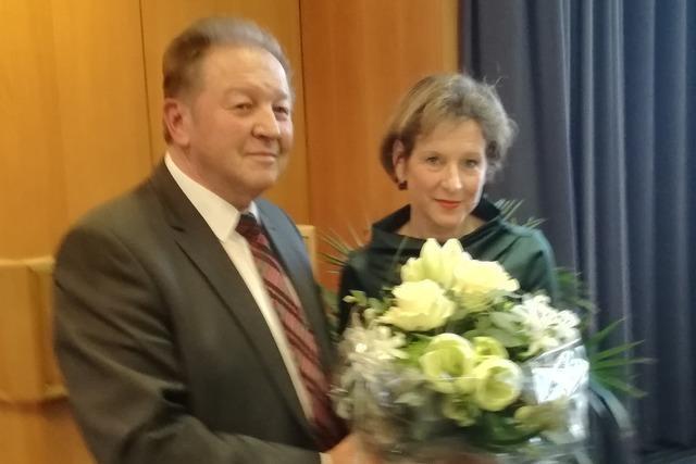 Marion Dammann wird erneut zur Lörracher Landrätin gewählt