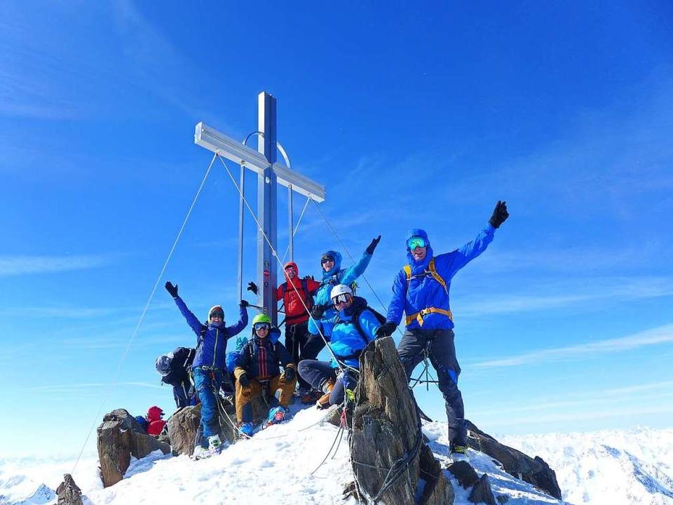 Geschafft: Gipfelglück  | Foto: Stefan Zahler