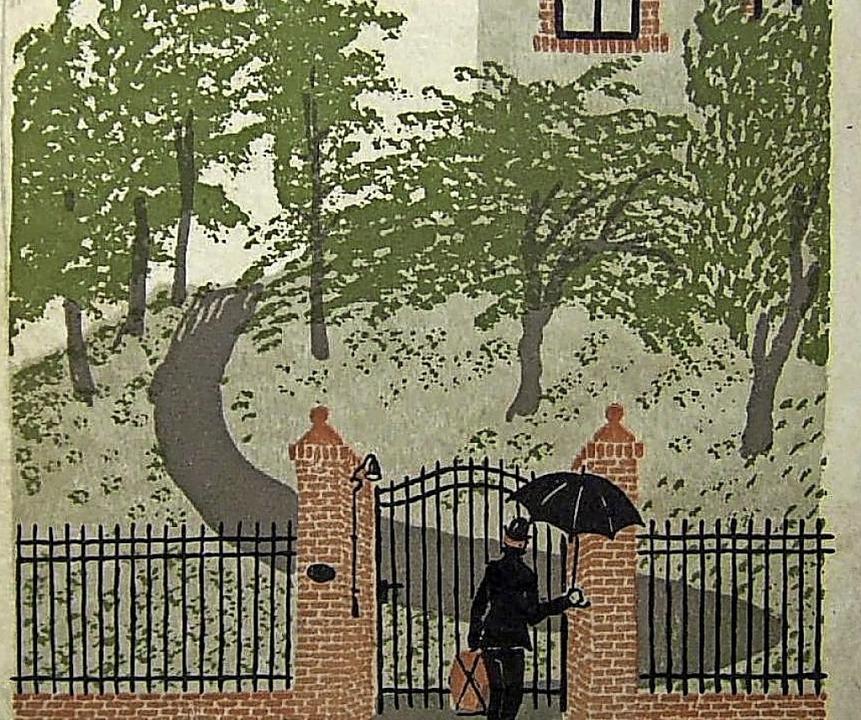 """Titelbild der Erstausgabe von  """"Der Gehülfe""""     Foto: Wikipedia"""