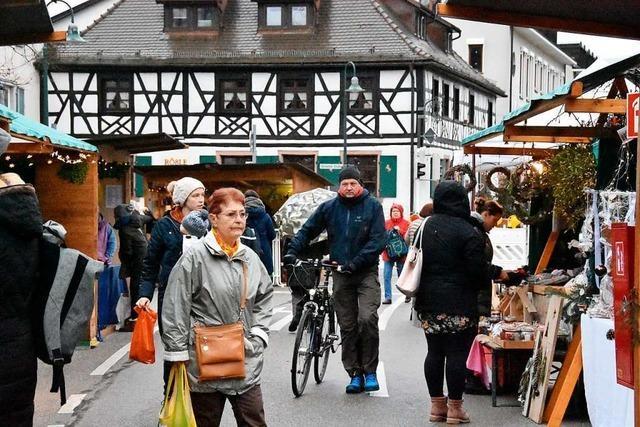 Der 30. Weihnachtsmarkt beginnt in Gundelfingen