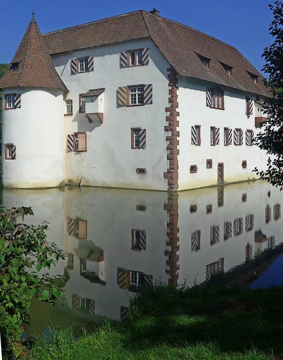 Ins schöne  Wasserschloss in Inzlingen... muss immer wieder investiert werden.   | Foto: Daniel Gramespacher