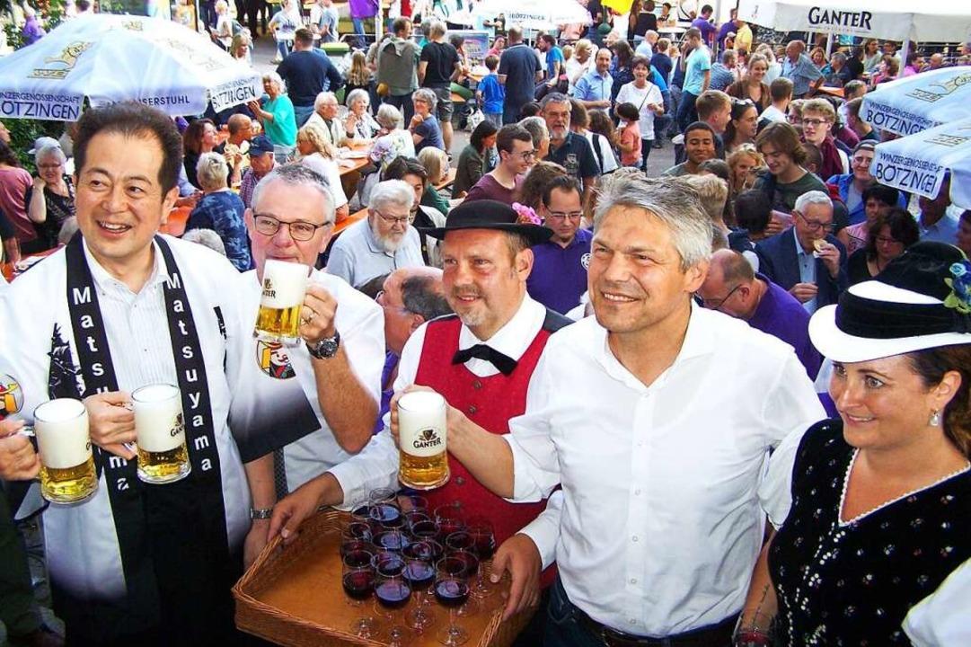 Feste wie der Herdermer Hock (hier die...ung nun ein Paket an Dienstleistungen.  | Foto: Hans Sigmund
