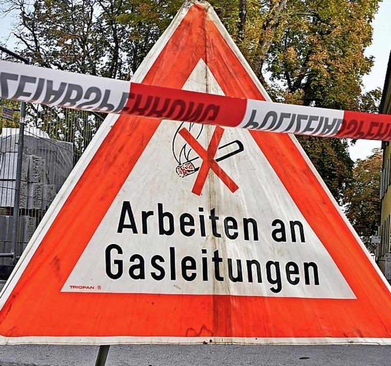 Gas- und Wasserleitungen sollen gemeinsam verlegt werden.  | Foto: Michael Bamberger
