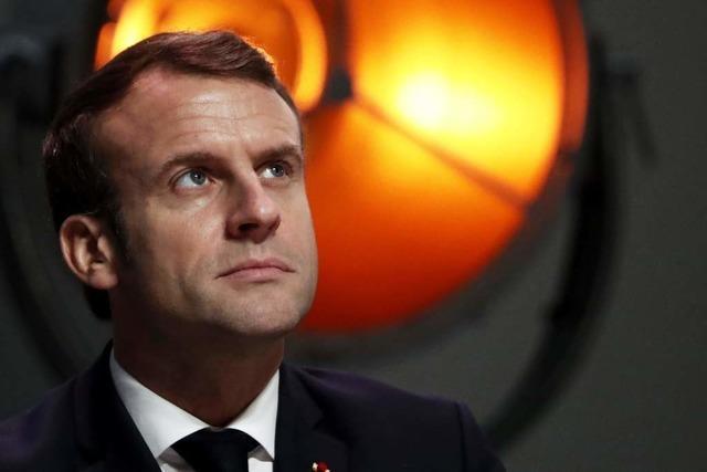 Emmanuel Macron zelebriert seine Macht
