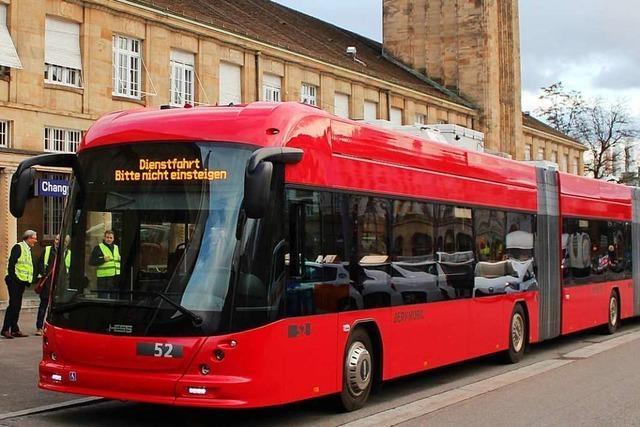 Basel will seine Busflotte komplett auf E-Antrieb umstellen