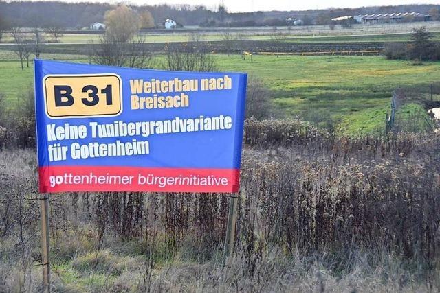 Bürgerinitiativen sind gegen eine Bundesstraße