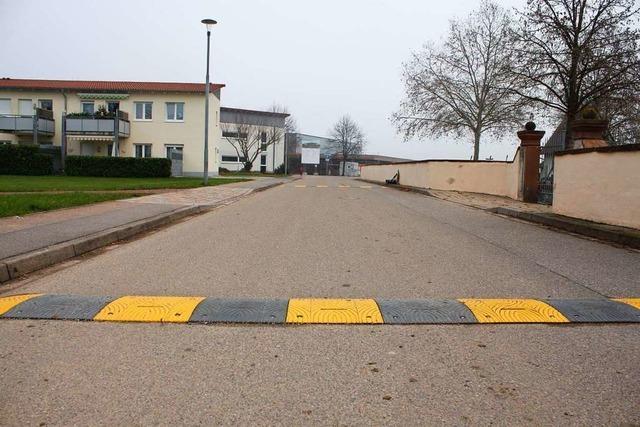 Die Gemeinde will mehr Sicherheit für Fußgänger und Radfahrer schaffen