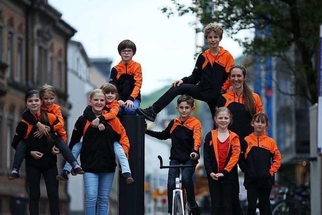 Martin Schmähling hofft auf junge Sportler für das Kunstradfahren in Herten
