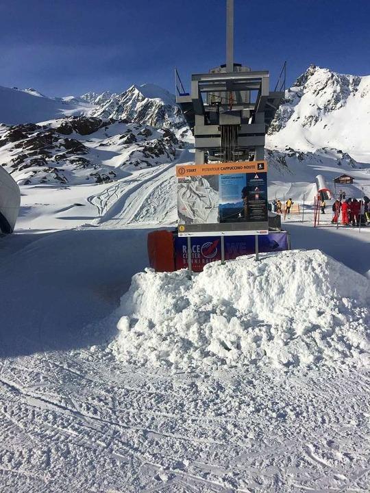Wer sich im Skitourengehen versuchen m...im Skitourenpark die Möglichkeit dazu.  | Foto: Stefan Zahler