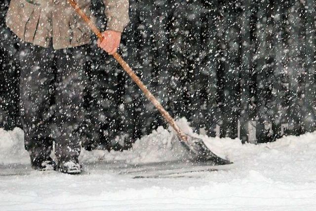 In Eisenbach müssen künftig alle Anwohner Schnee auf Gehwegen räumen